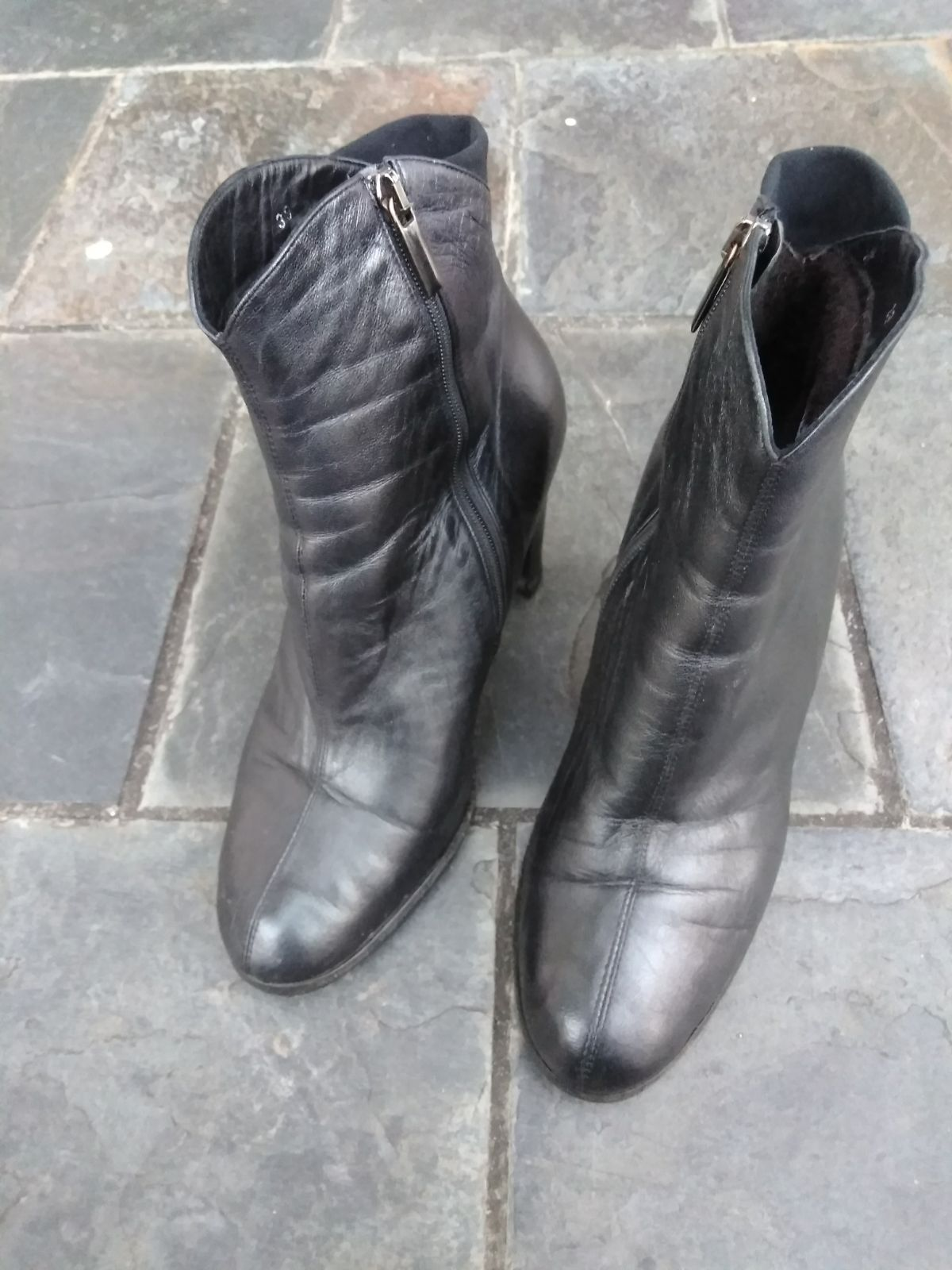 Thierry Rabotin Leather Boots