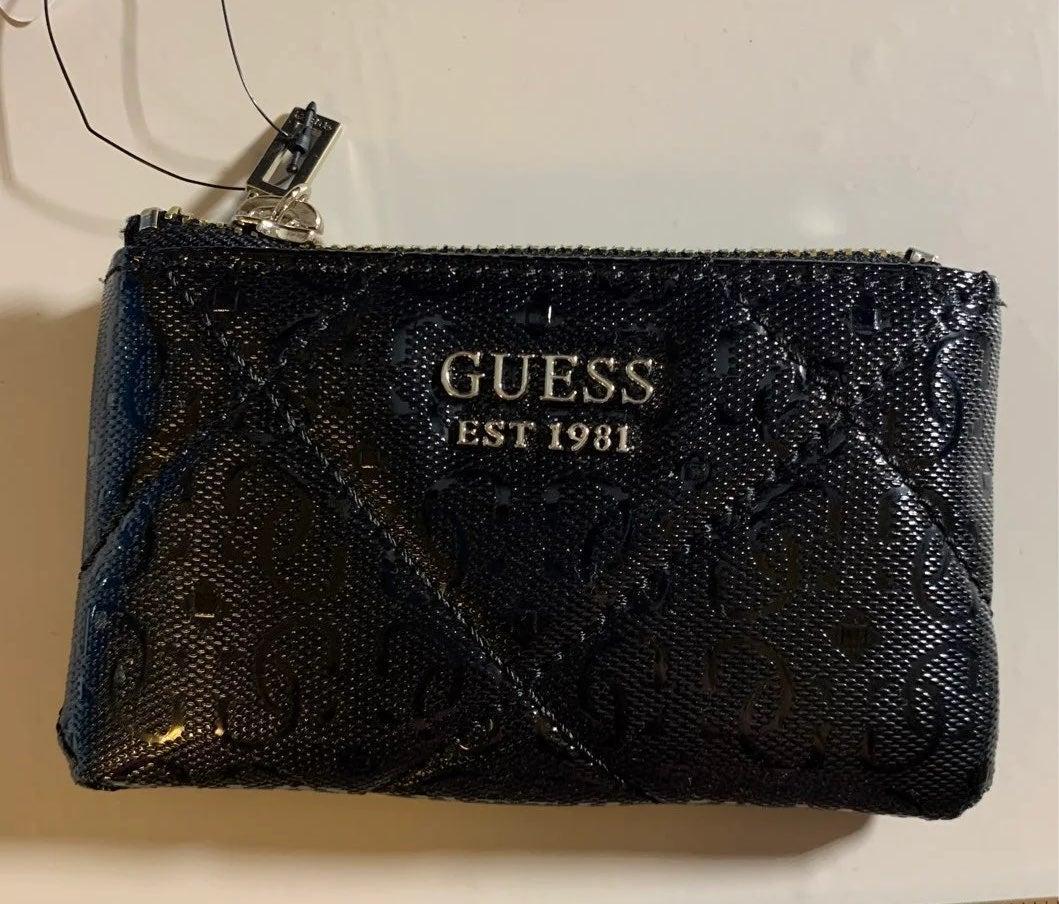 Womens guess pocket wallet