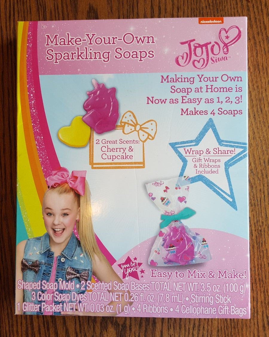 Jojo Siwa make your own soap
