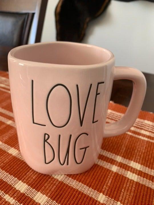 Rae Dunn Love Bug Mug
