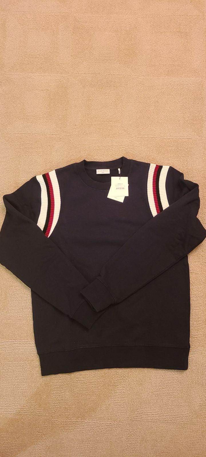 Sandro sweatshirt Navy M