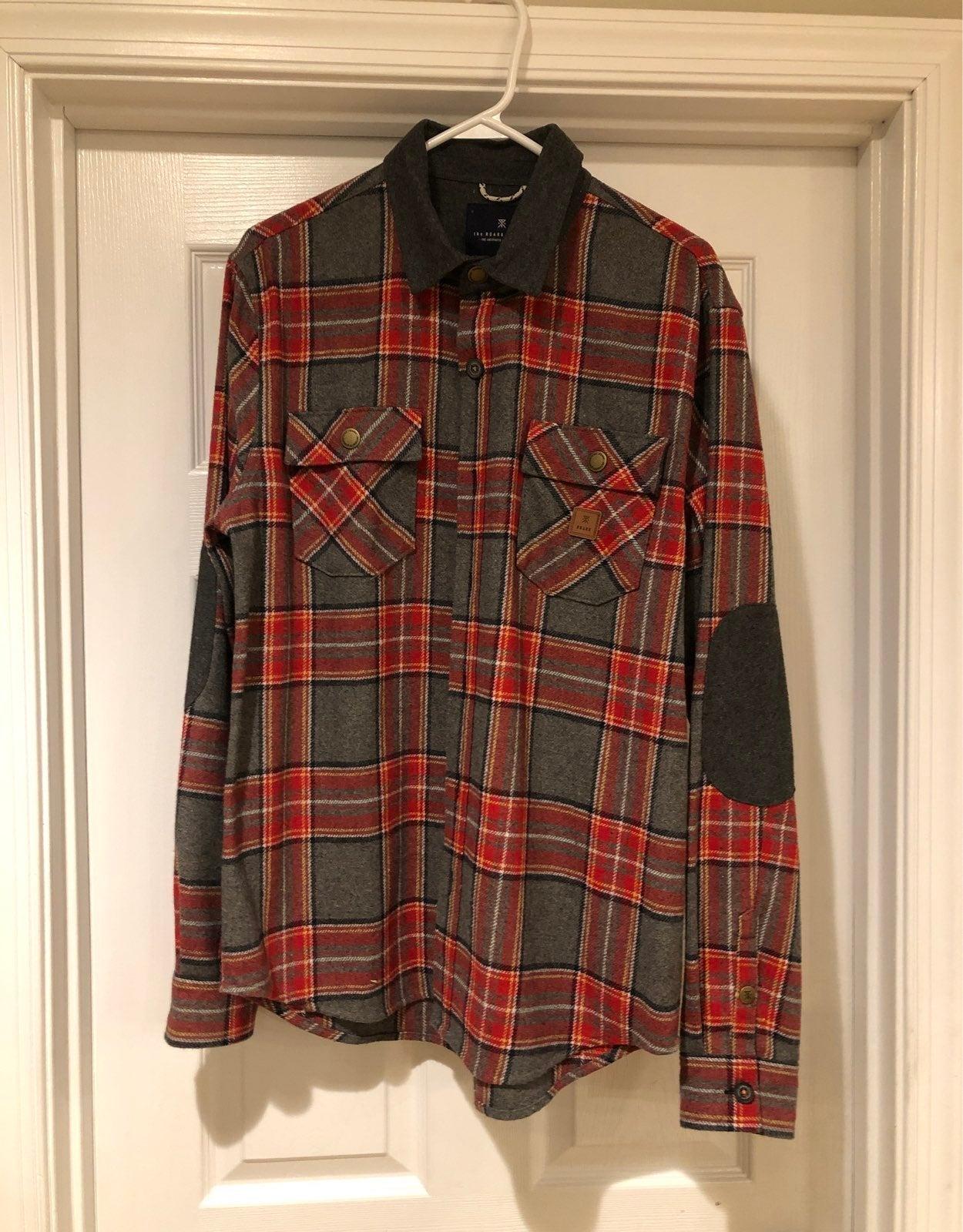 Roark Revival Nordsman Flannel Shirt M