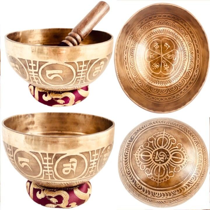Hand Hammered Tibetan Singing Bowl Nepal