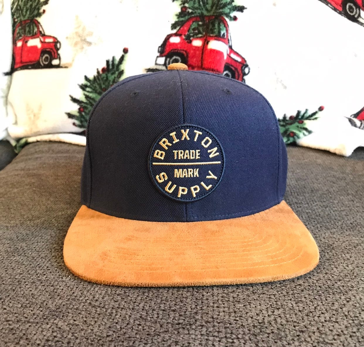 Brixton™ Supply Co hat (WORN ONCE)