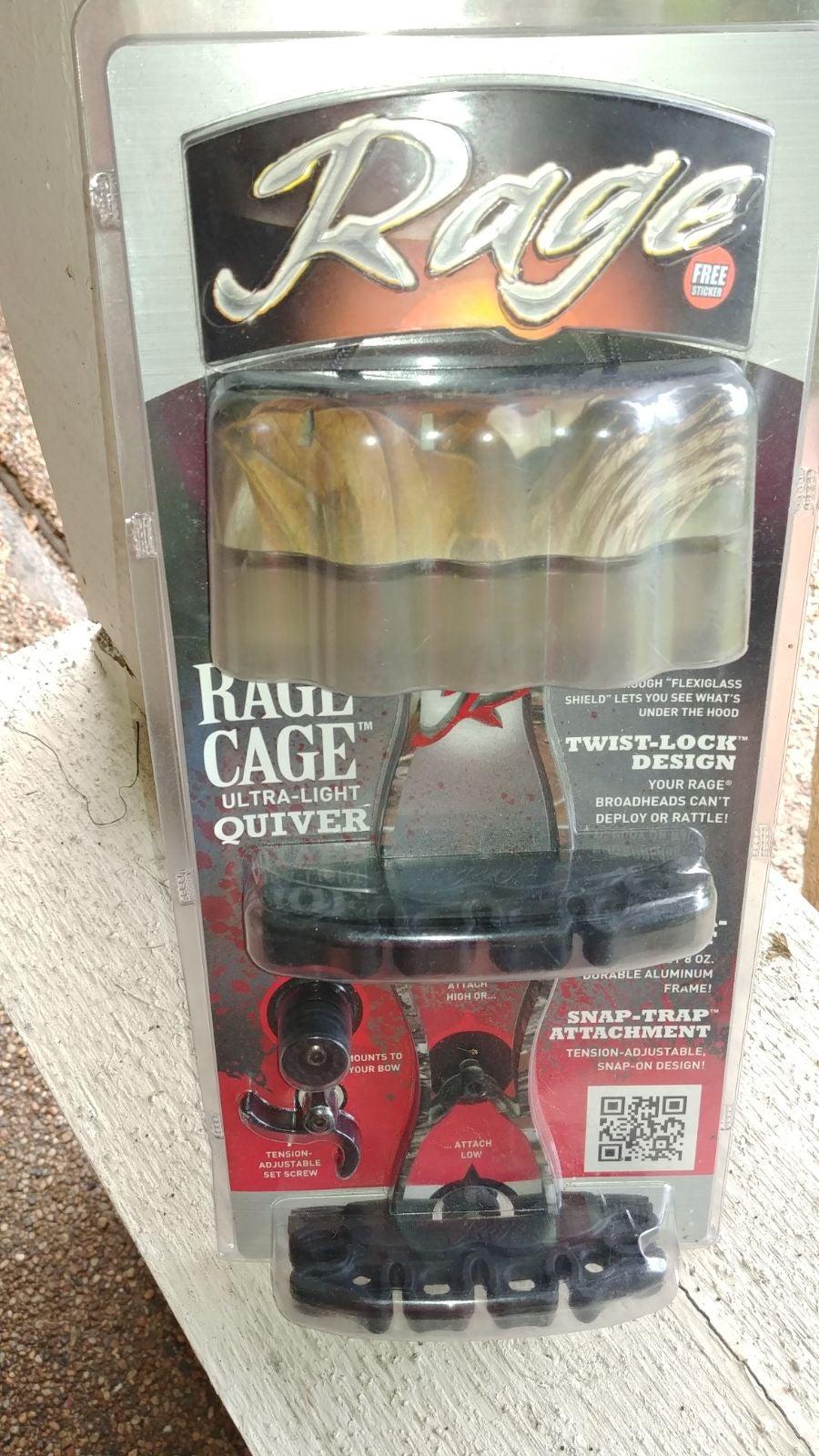 Rage Ultra Lite Quiver Twist Lock Design