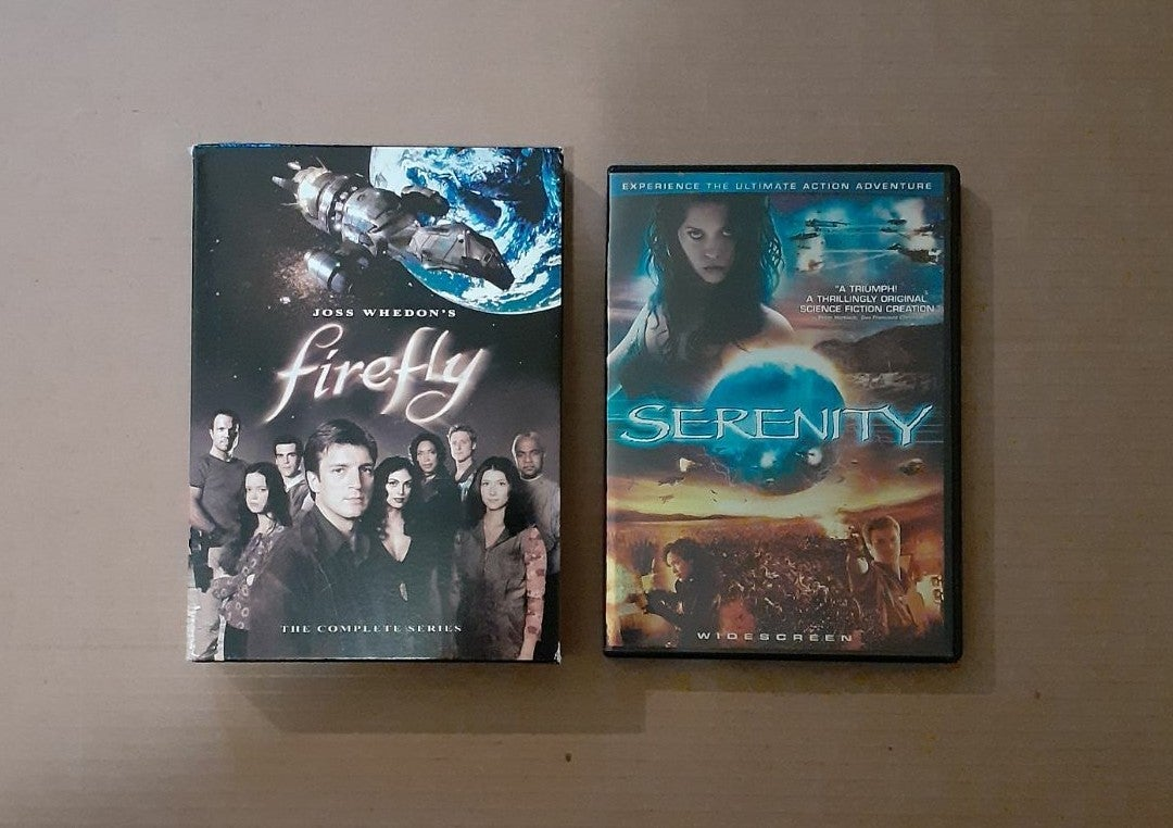 Firefly Complete Series and Serenity DVD