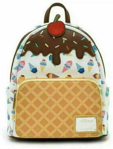 Loungefly Ice Cream Cone Mini Backpack