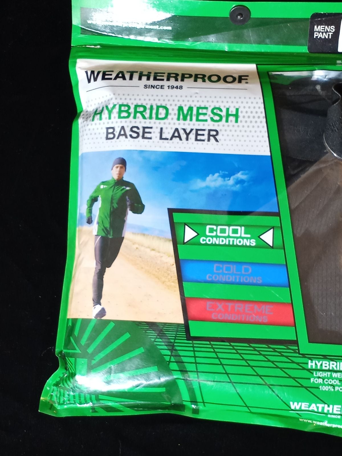Weatherproof brand men's workout jogging