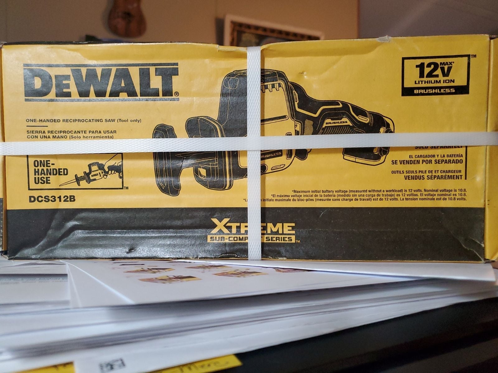NEW Dewalt Reciprocating Saw DCS312B TOO