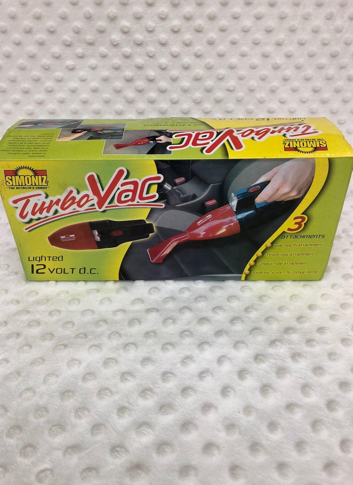 Simoniz Hand Held Turbo VAC 12 Vol