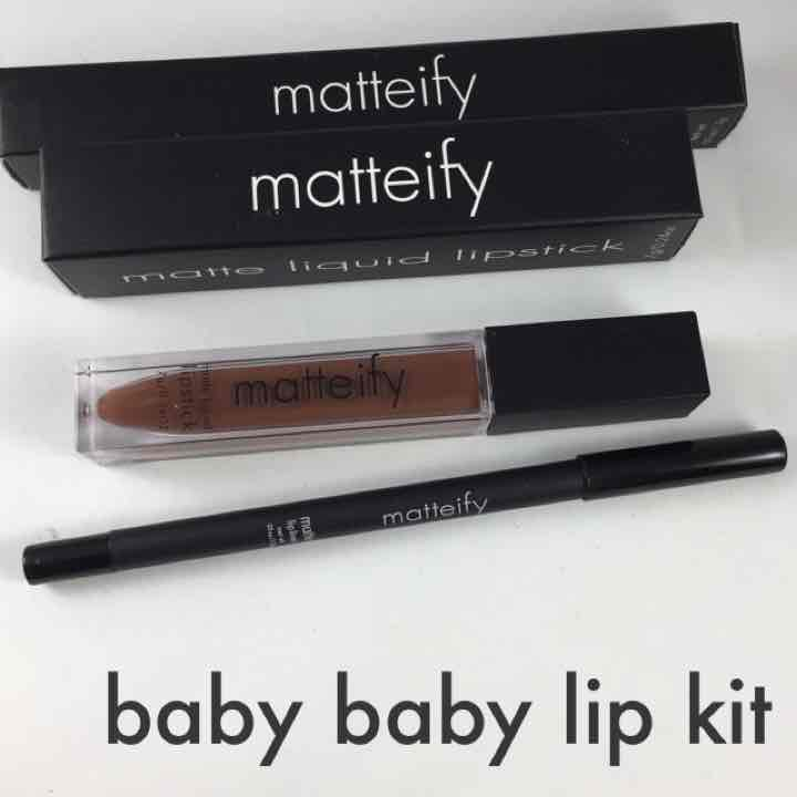 Matteify authentic lip kit chocolate