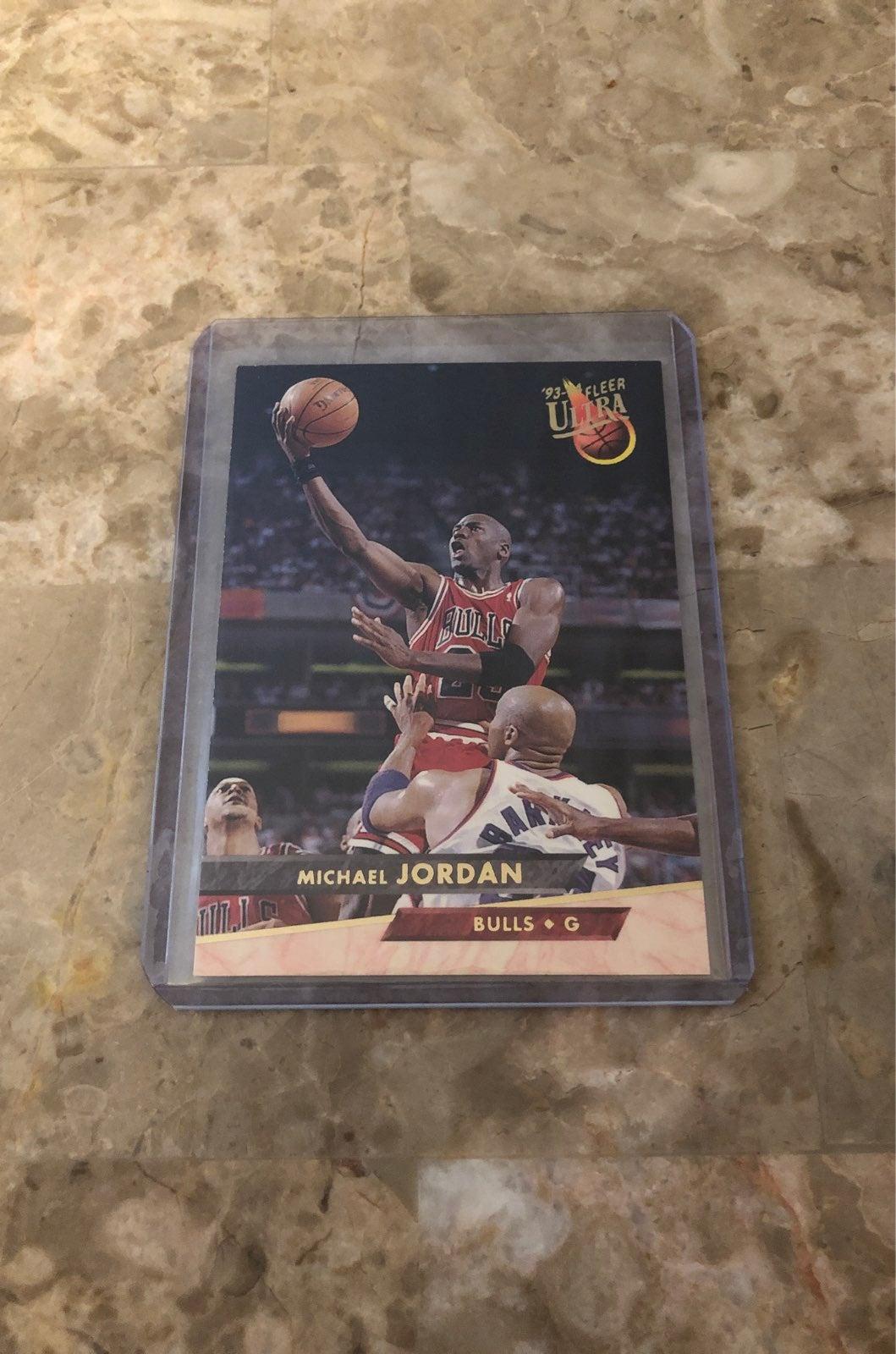 1993 Michael Jordan Fleer Ultra