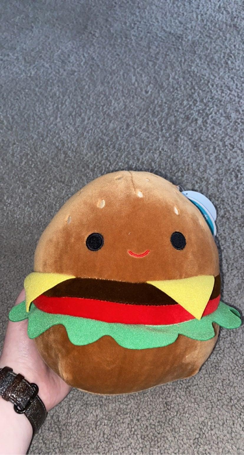 squishmallow burger