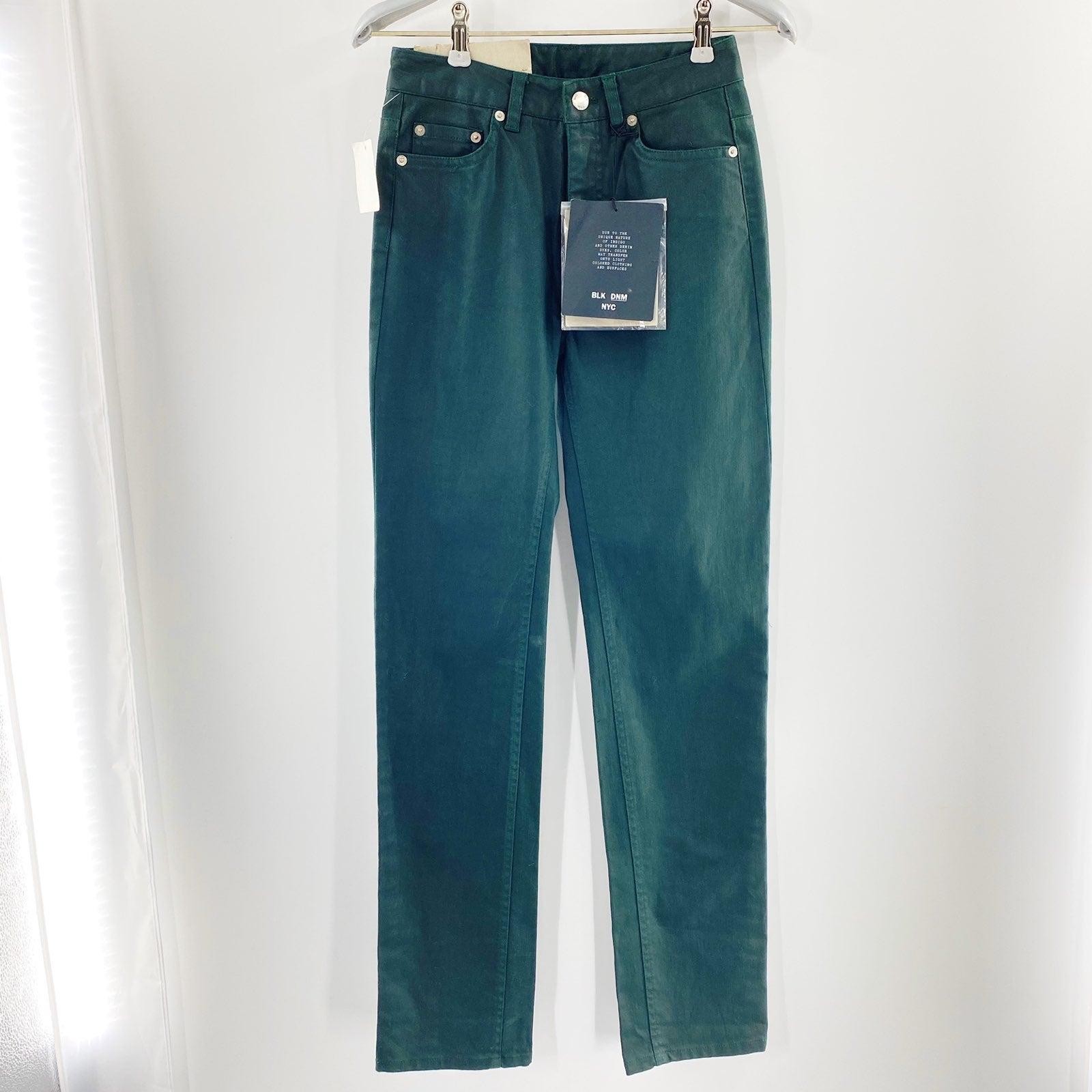 BLK DNM Men's Jeans 6 Regular Rise
