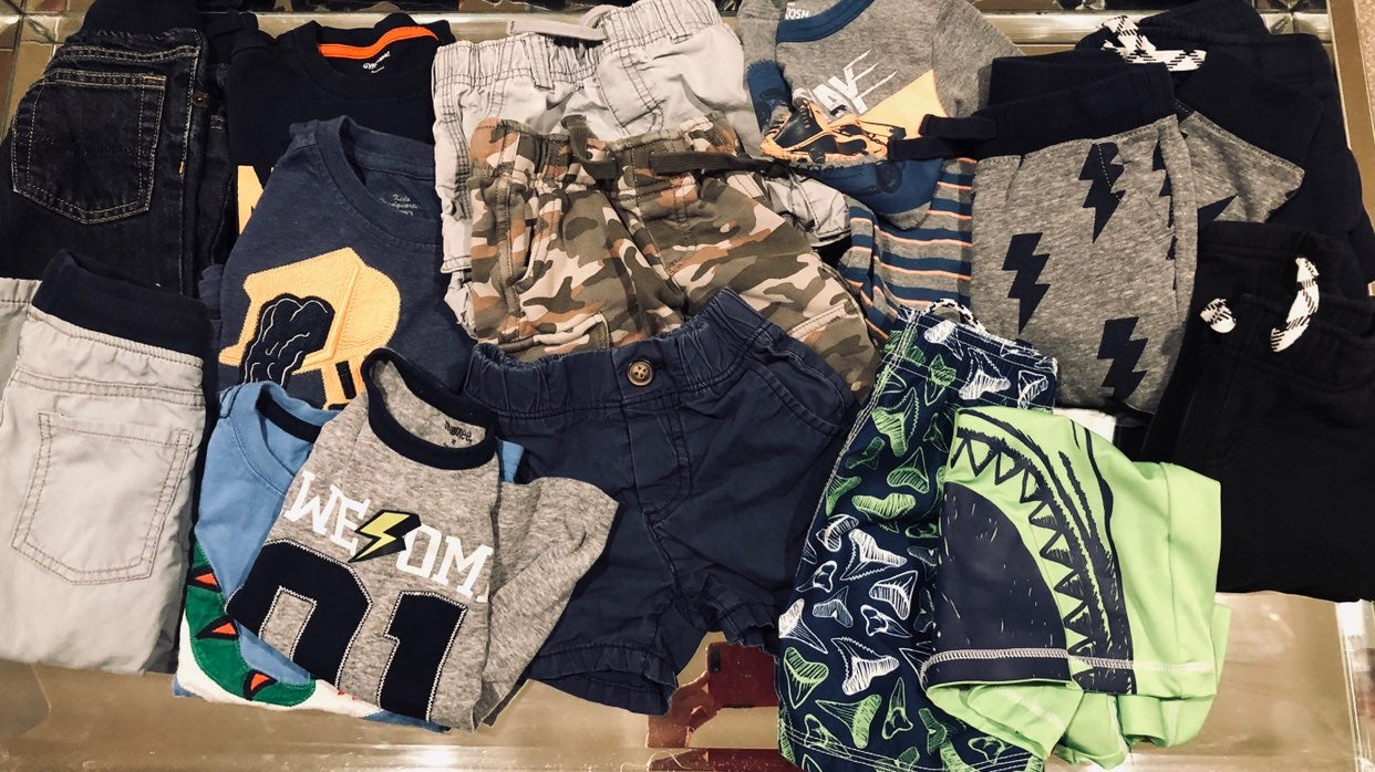 Mixed Lot of Boy's Size 2T Clothes