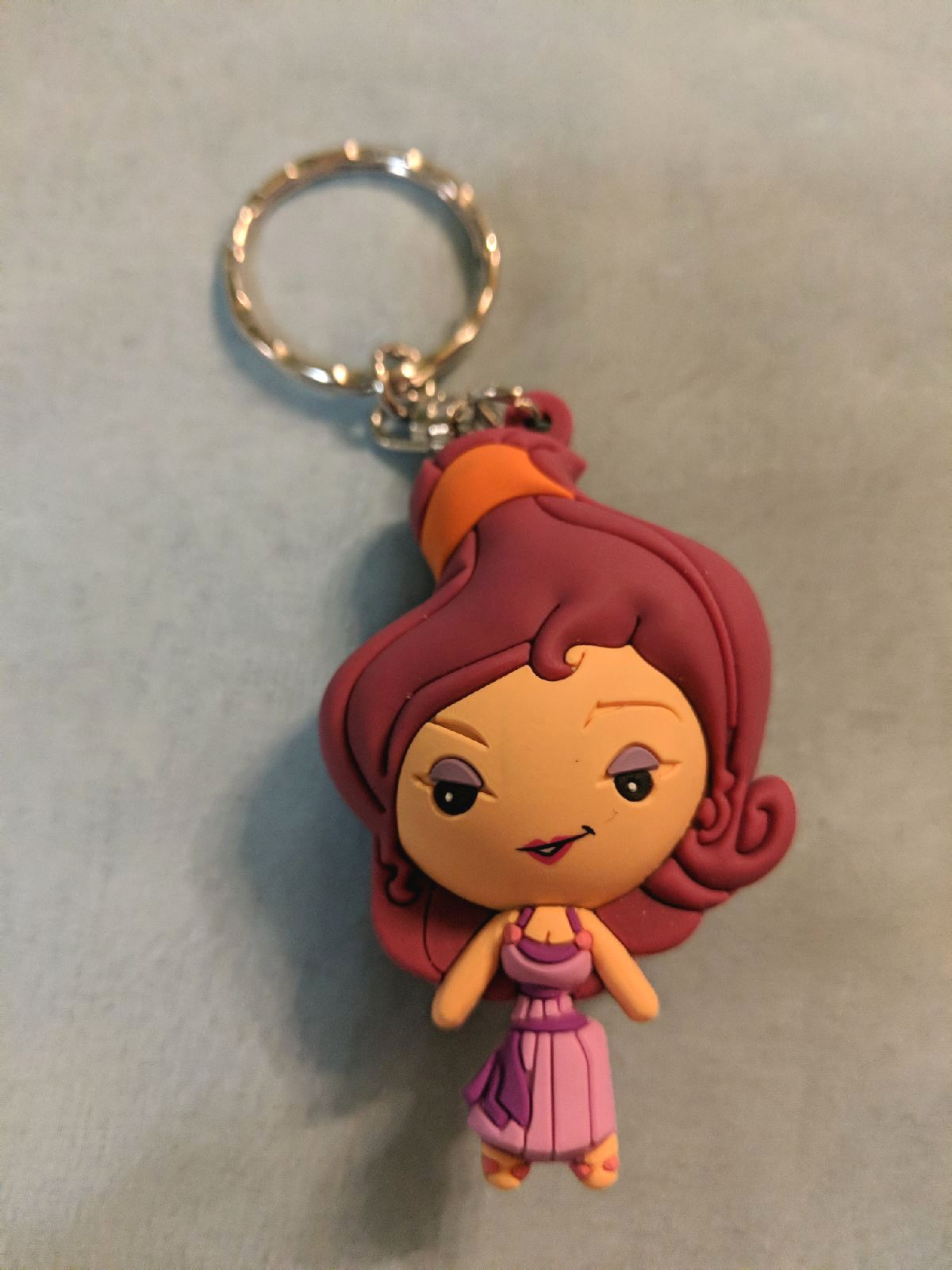 Disney Hercules Meg Keychain - Monogram