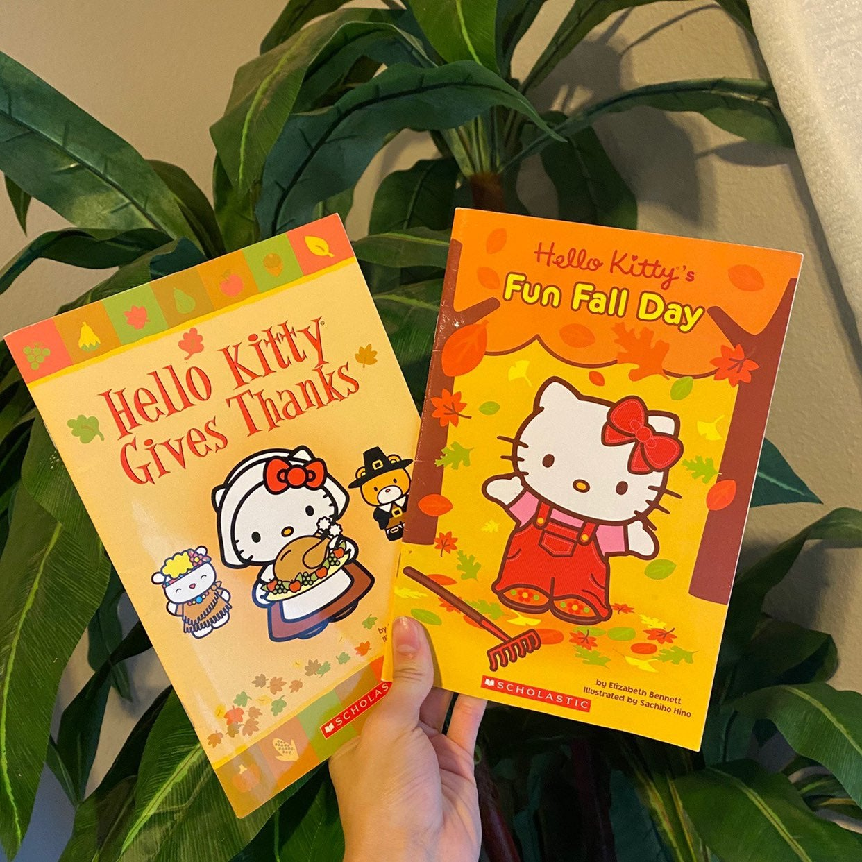 Hello kitty fall books