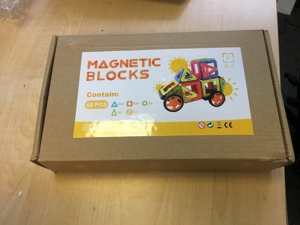 Magnetic Building Blocks Tiles