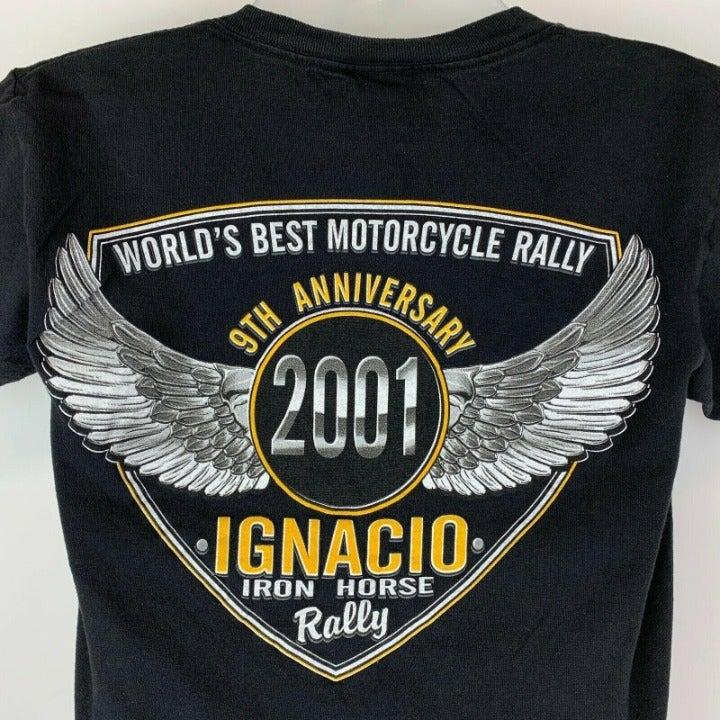 Vintage 2001 Ignacio Rally Small T Shirt