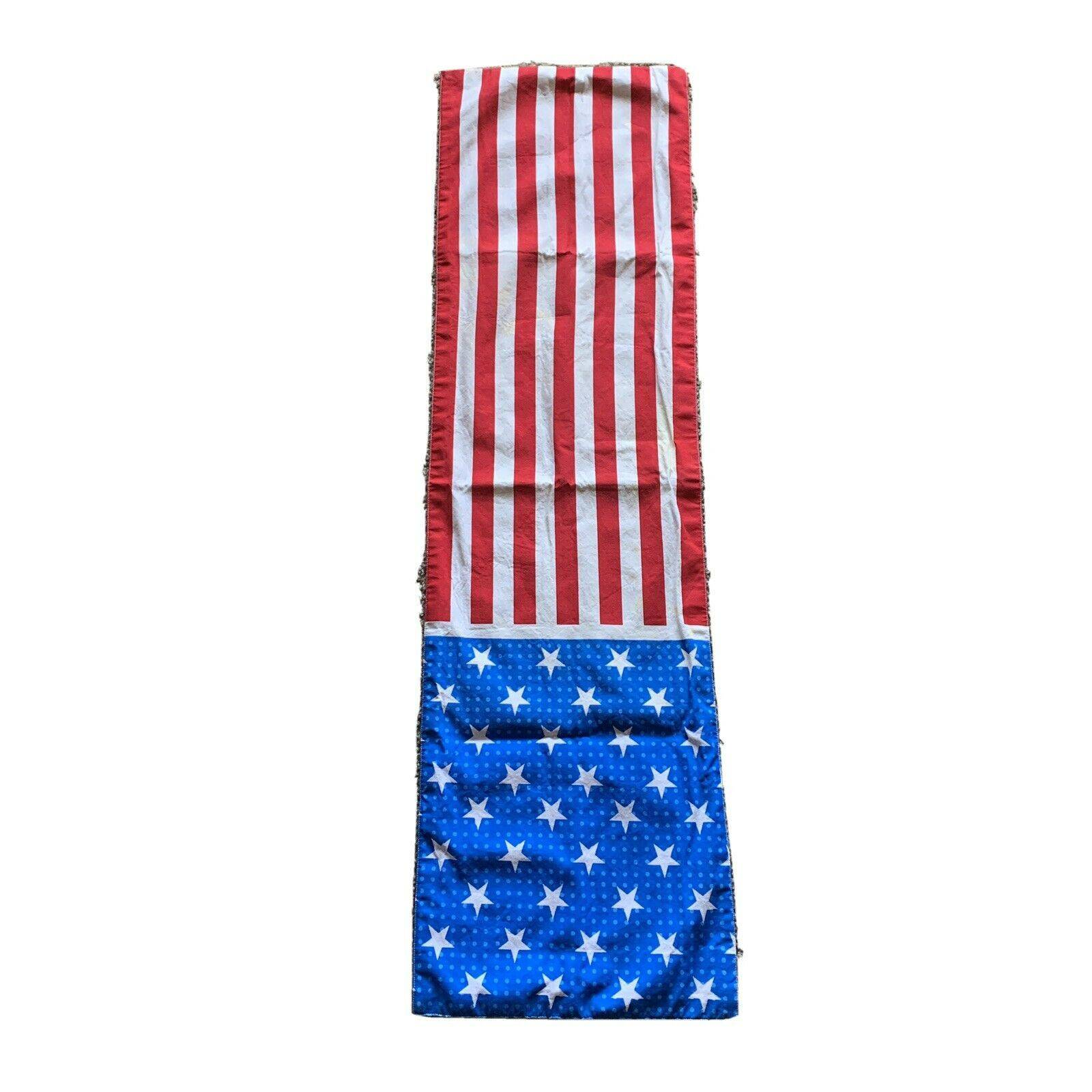 4th of July Table Runner Patriotic 48""