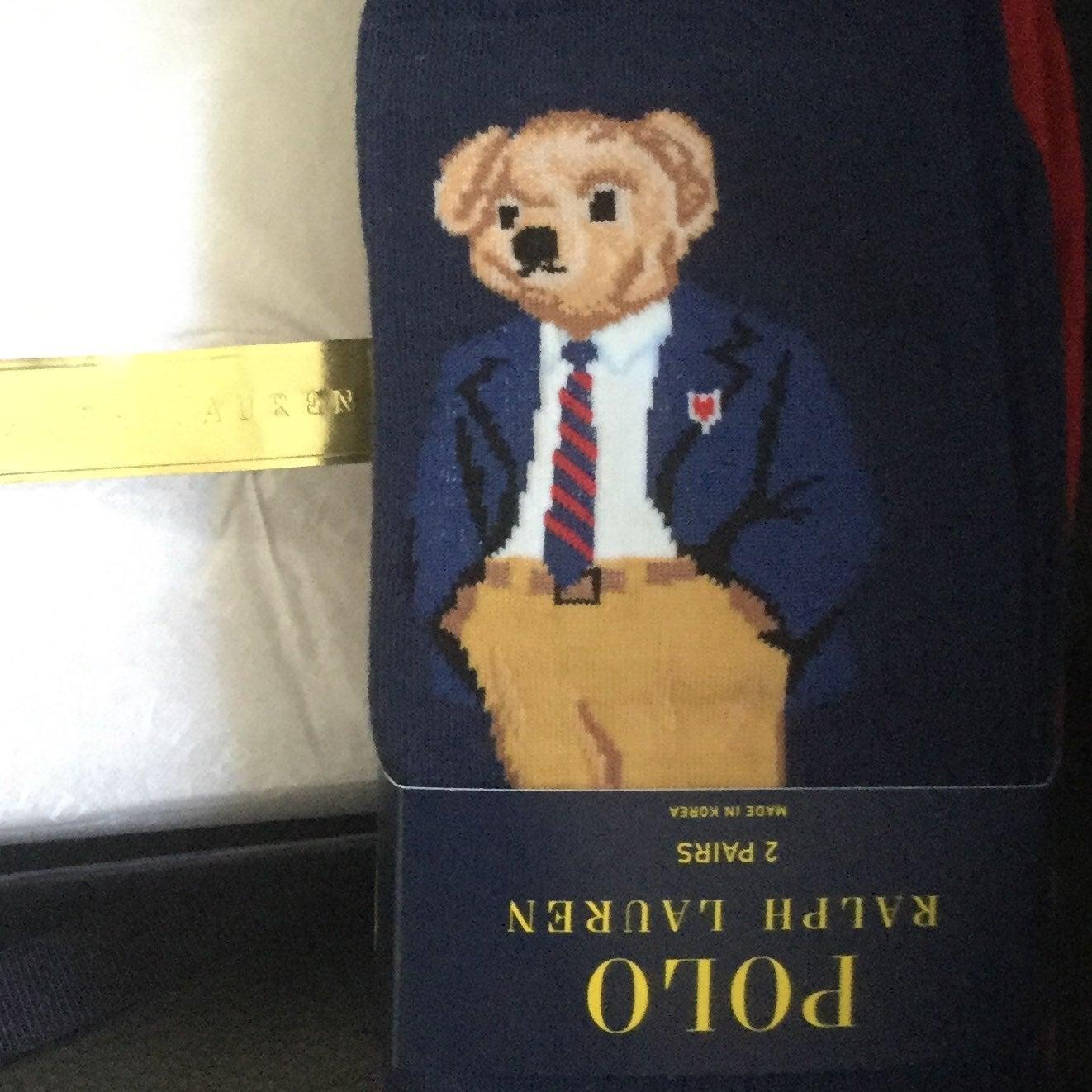 POLO BEAR RALPH LAUREN MEN SOCKS BOX SET
