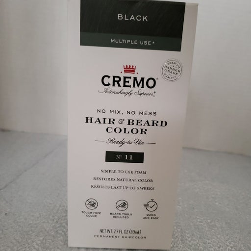 Cremo Hair and Beard color ready to use