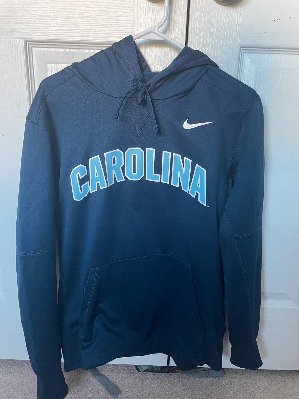 Nike Arch Carolina Club Hoodie M Navy