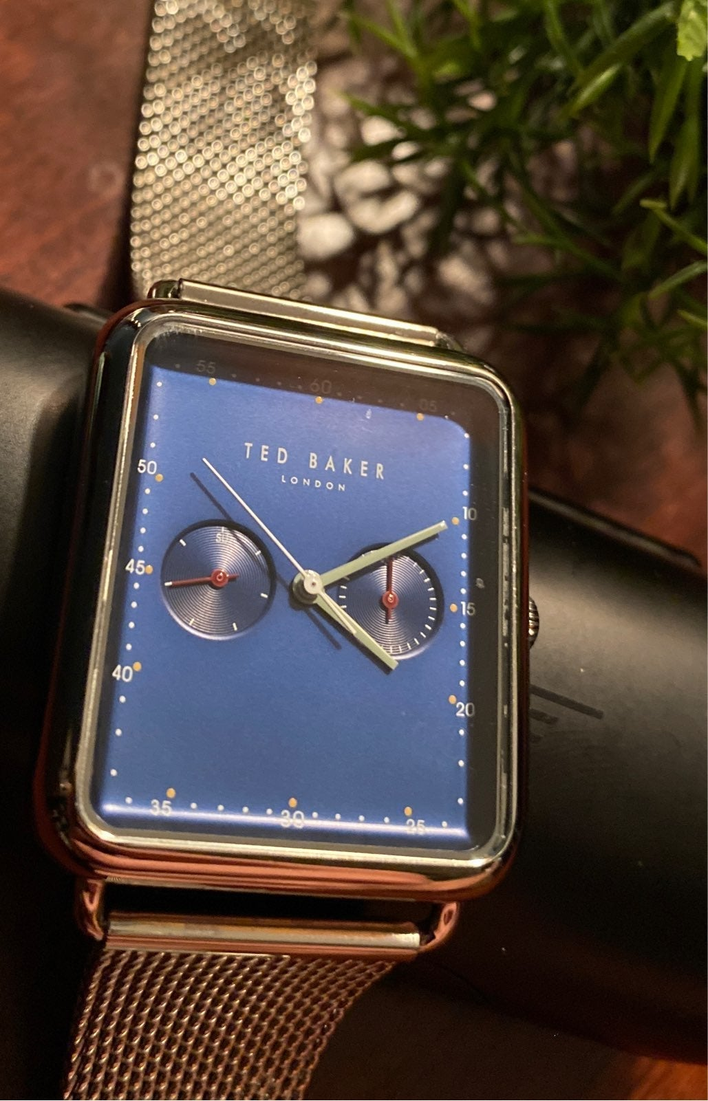 Ted Baker Azure Chain Watch&Tool