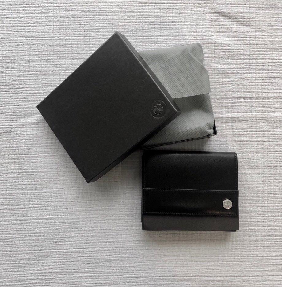 BMW Genuine Wallet - Black Leather BNIB