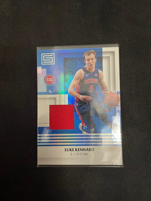 Luke Kennard jersey card
