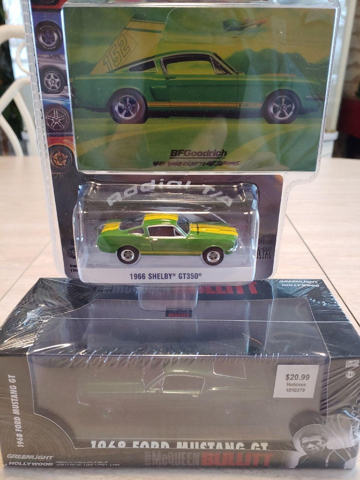 Greenlight Green Machine Bullitt Mustang