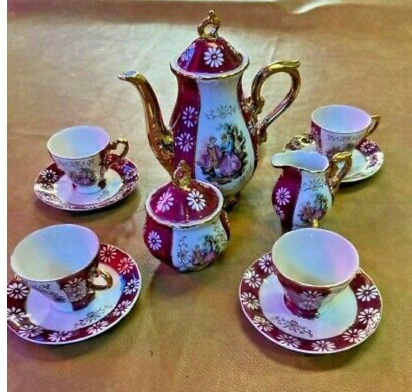 Vintage Japan Fine China Complete Set
