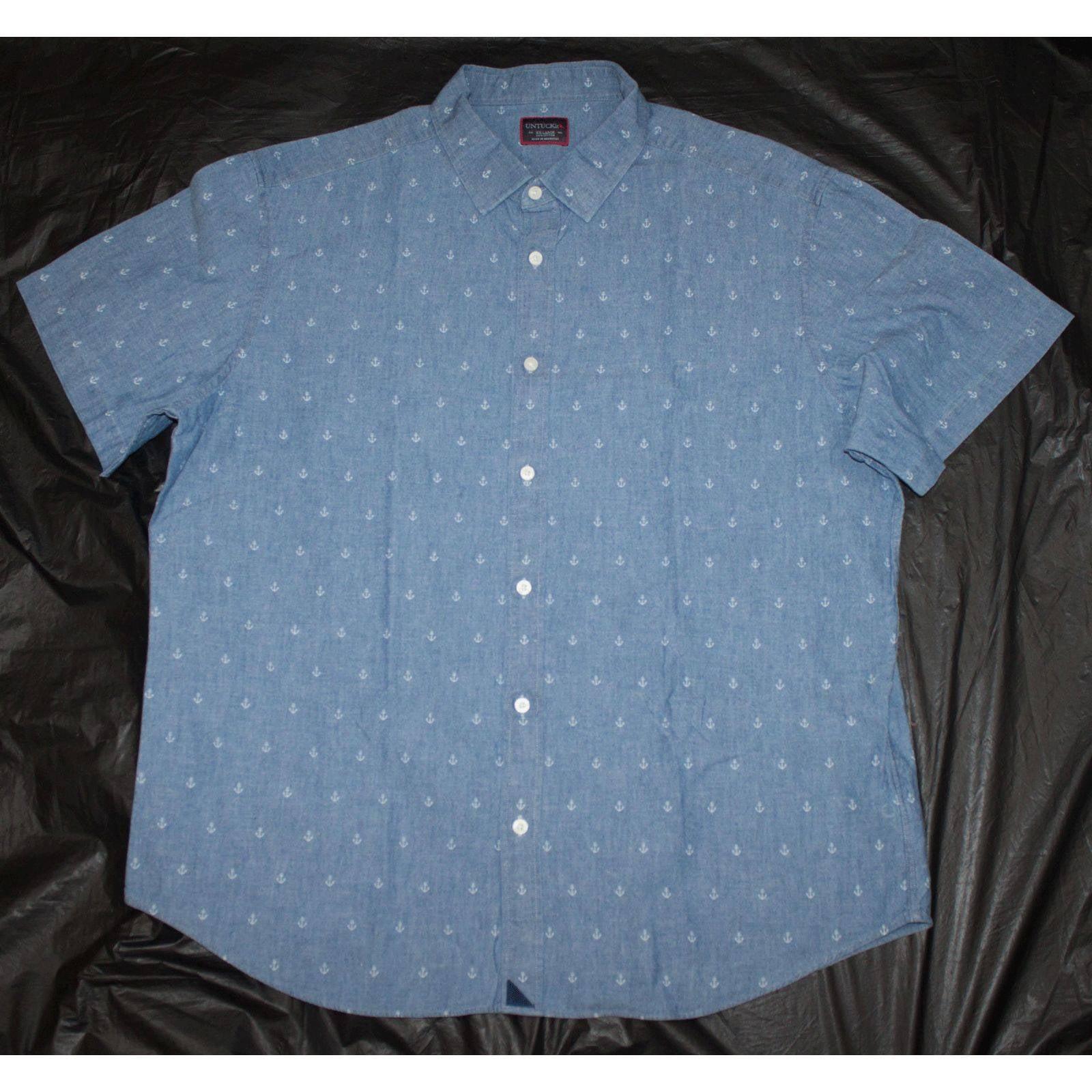 UNTUCKit Short Sleeve Button Front Shirt