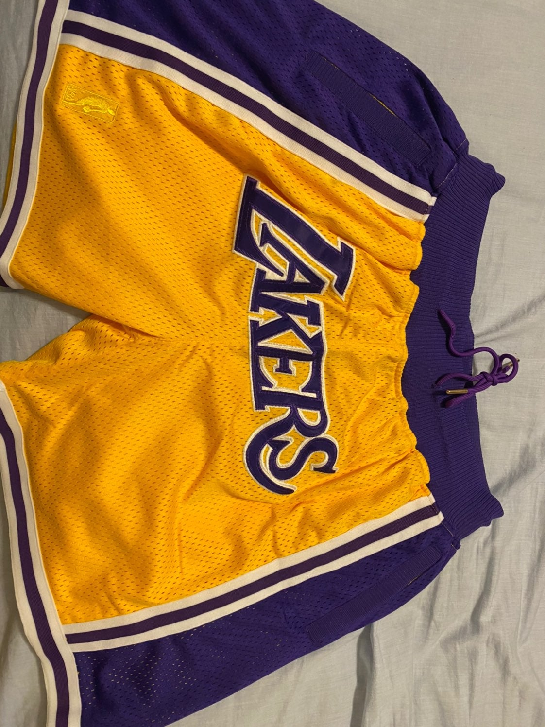 Mitchell and Ness Lakers Shorts
