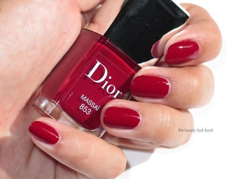 Dior Nail Polish MASSAI 853