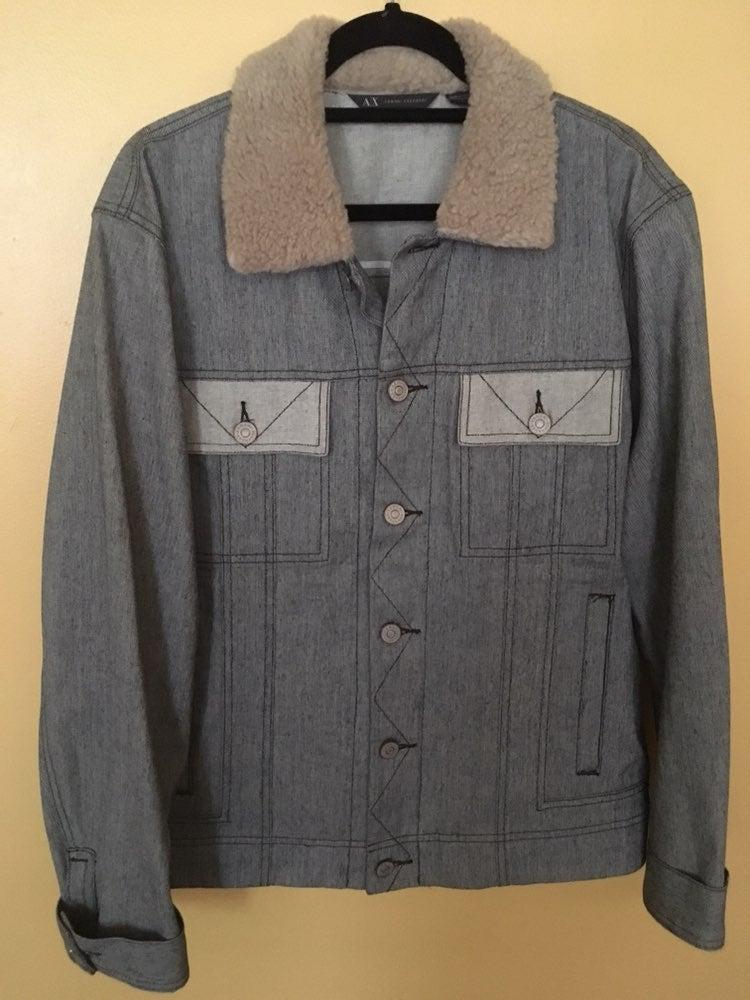 Armani Exchange Men's Jean Jacket