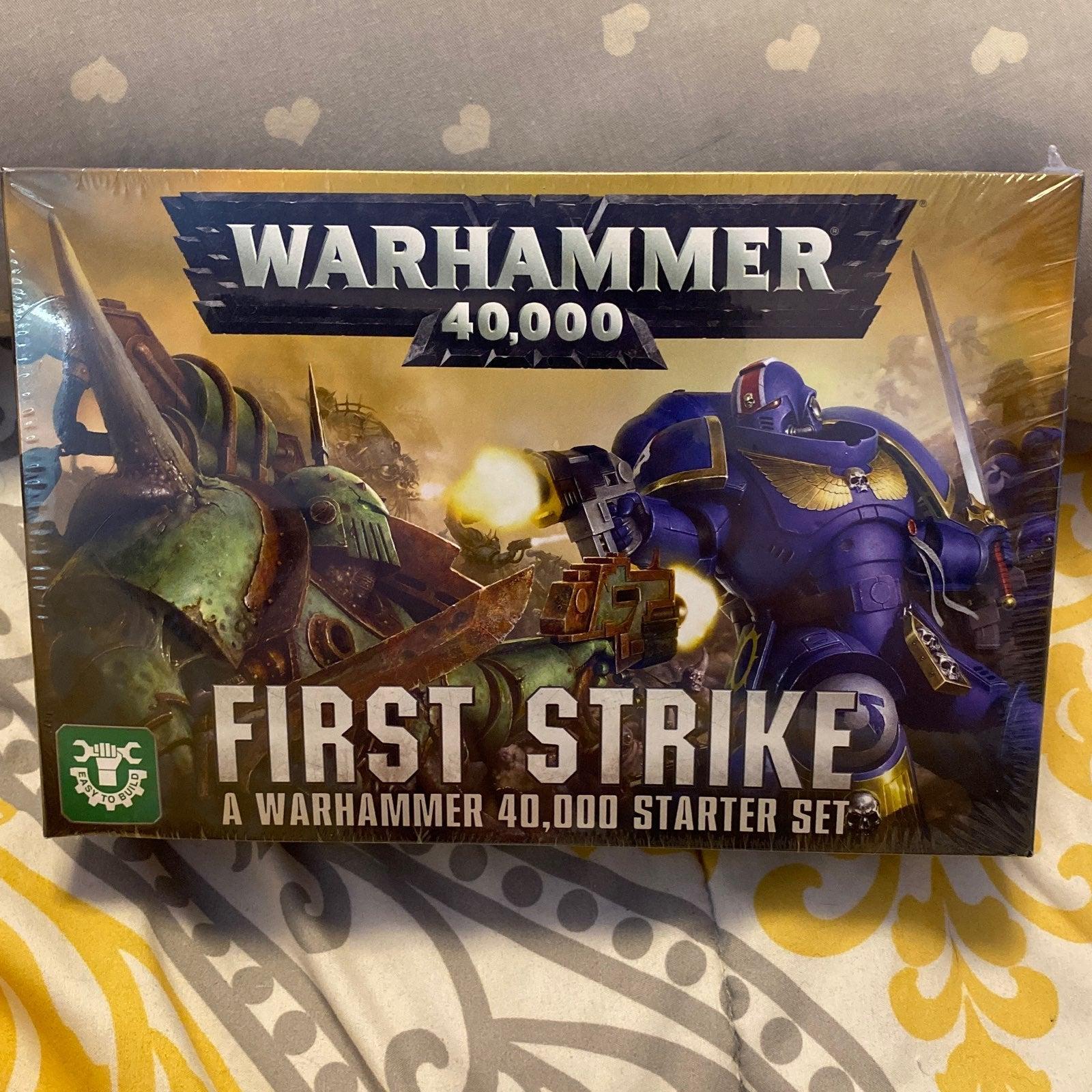 WARHAMMER 40K - FIRST STRIKE