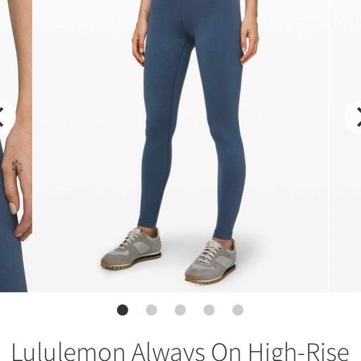 Lululemon Always on High Rise Tight 28 2
