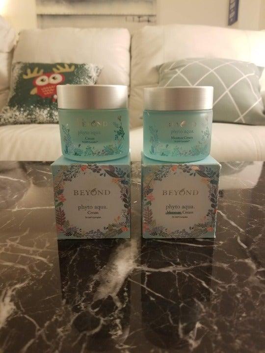 [K Beauty] 2x Beyond Phyto Aqua Creams