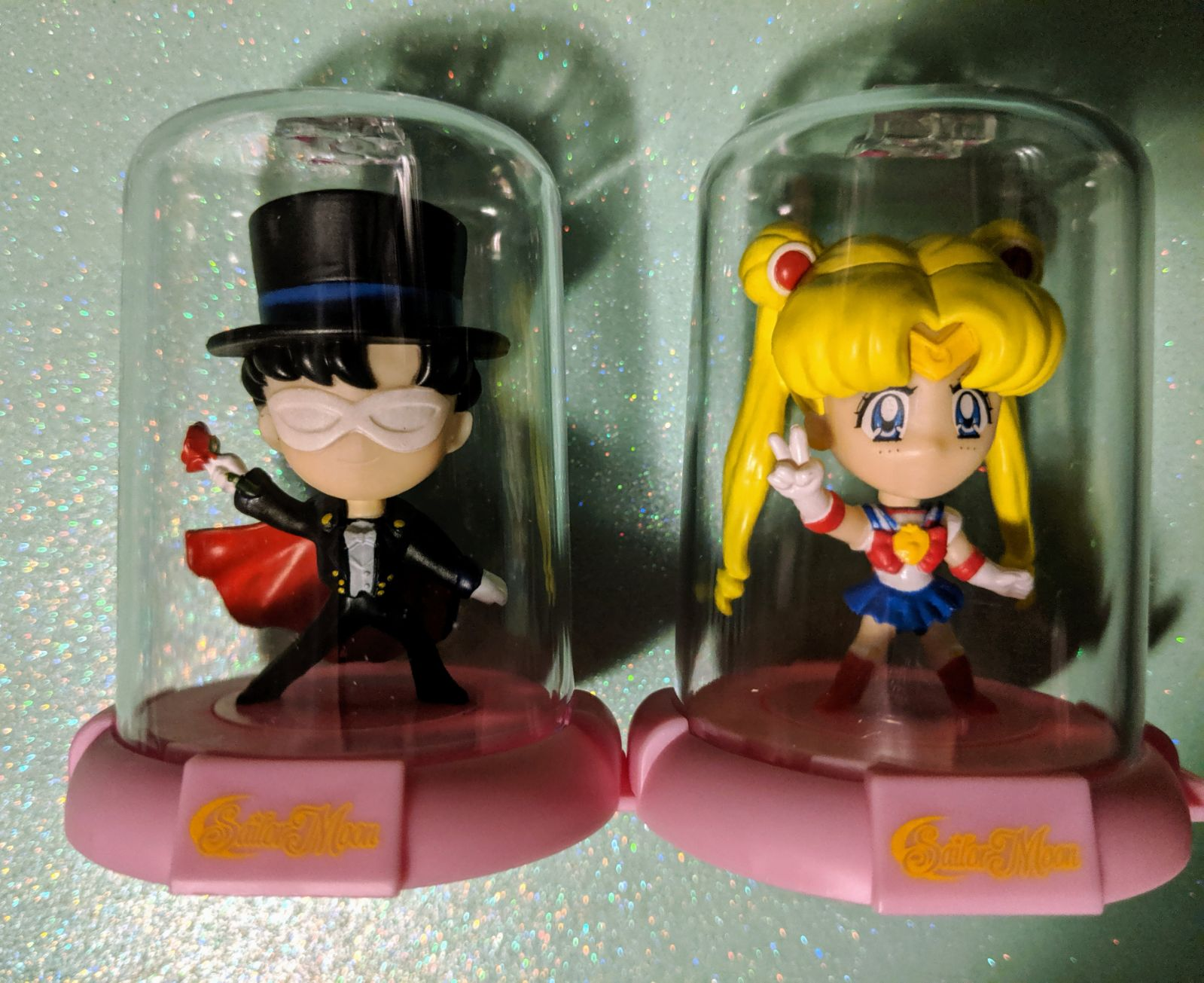 Sailor Moon / Tuxedo Kamen Domez Bobble