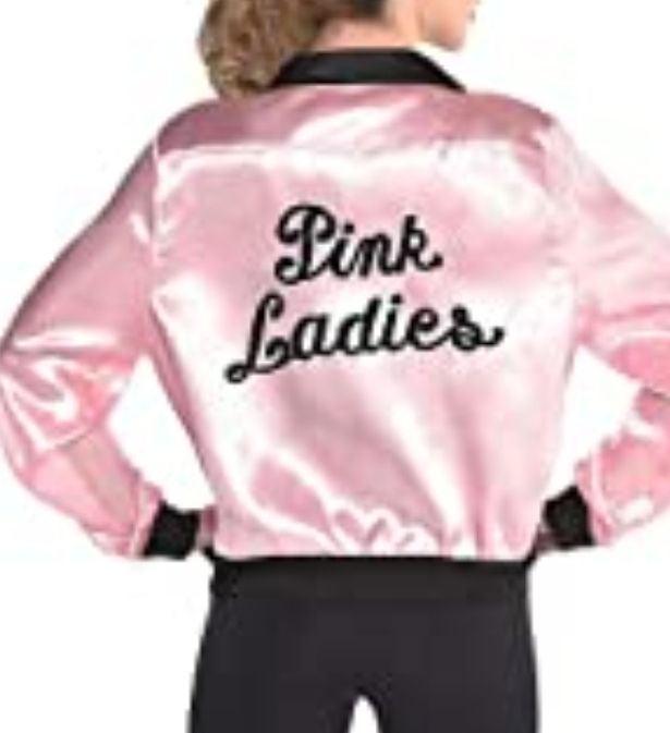 "Costumes USA grease pink ladies "" jacket"