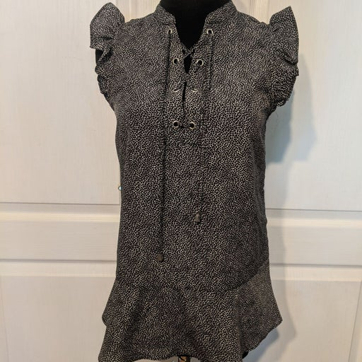 Michael Kors Cap Sleeve Shirt NWT