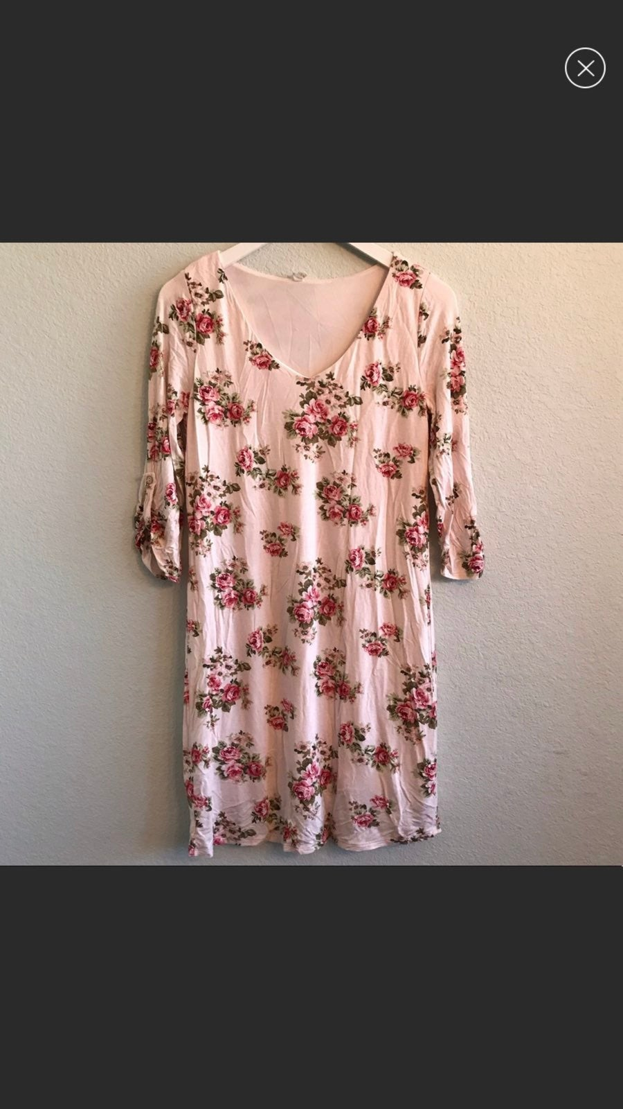 Pinkblush Pink Rose Maternity Dress
