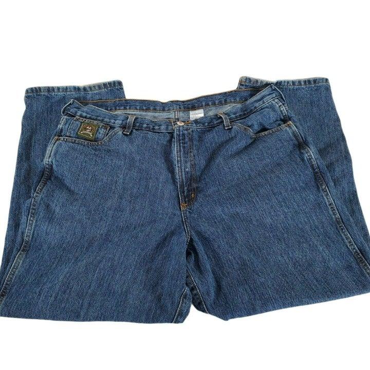 Cinch Green Label Mens 42x30 Blue Jeans