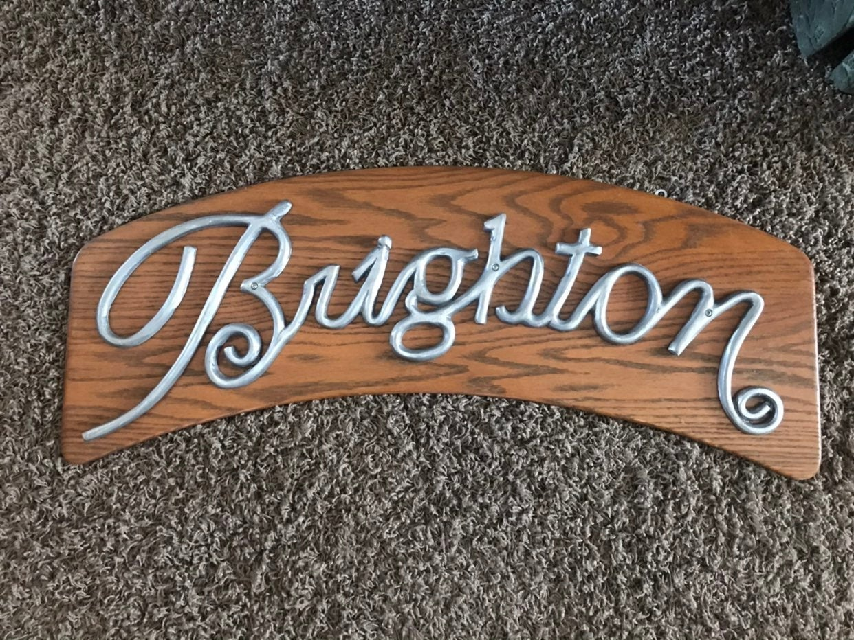 Brighton Advertising Sign