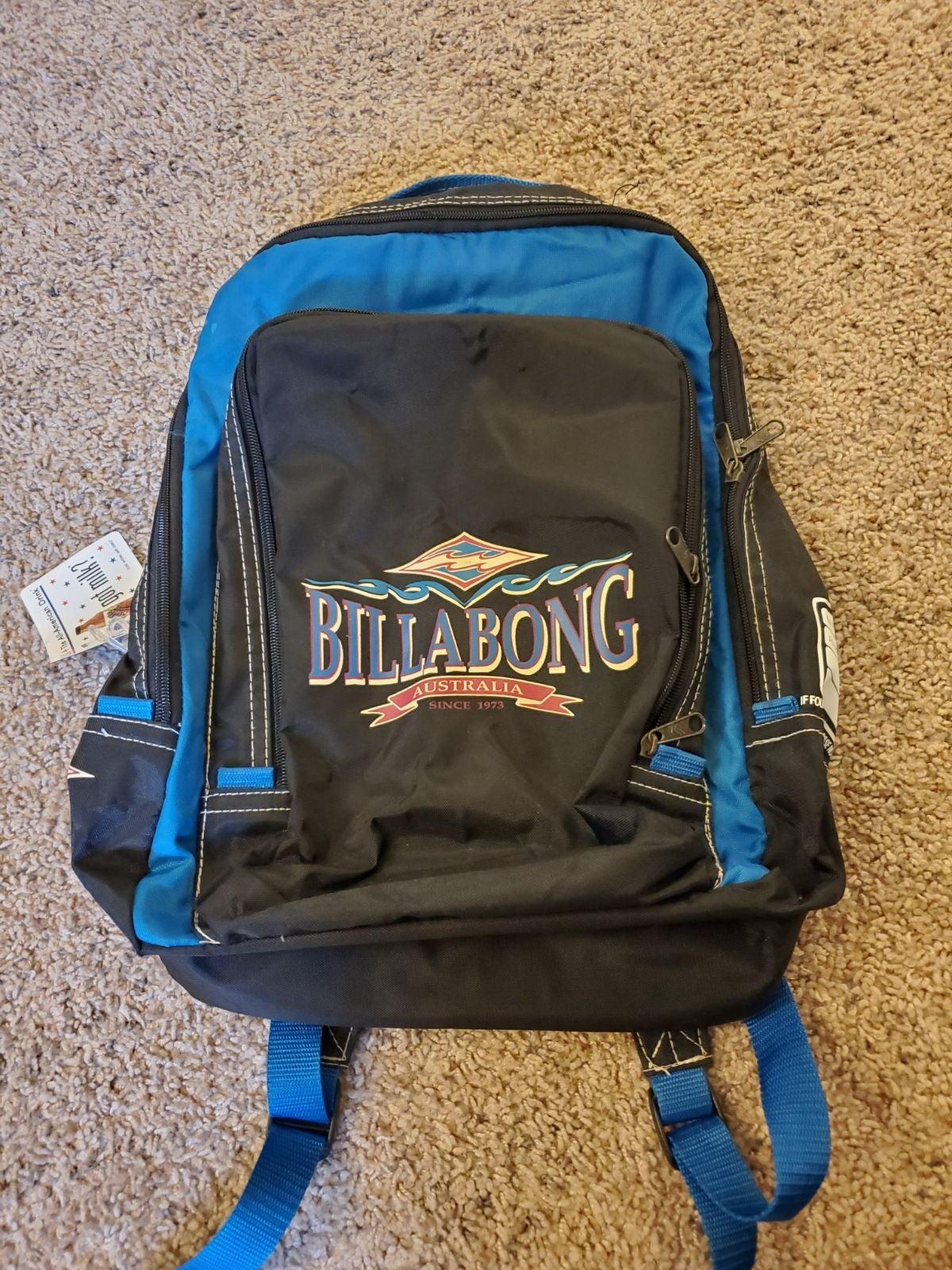 Vintage Billabong backpack