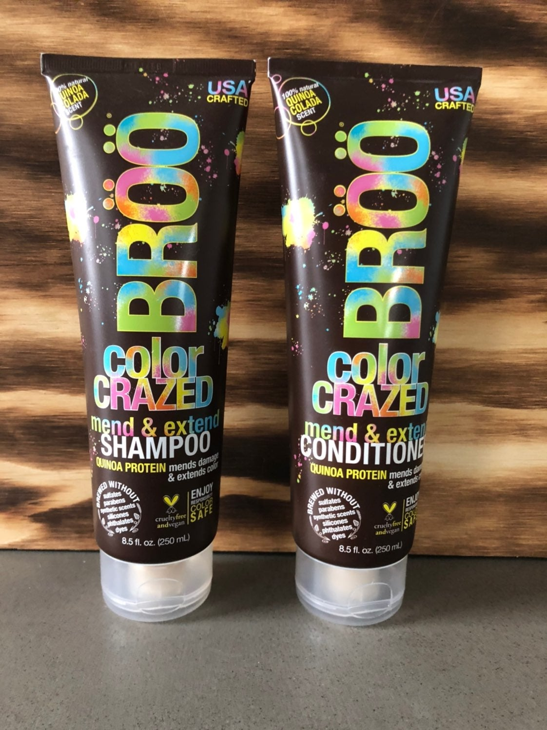 Broo Color Crazed Shampoo and Conditione