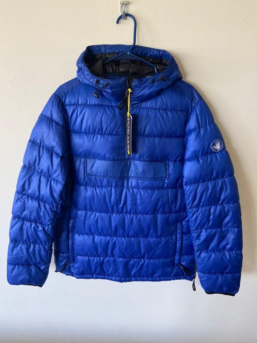 Men's Bodyglove Quilted Pullover Jacket
