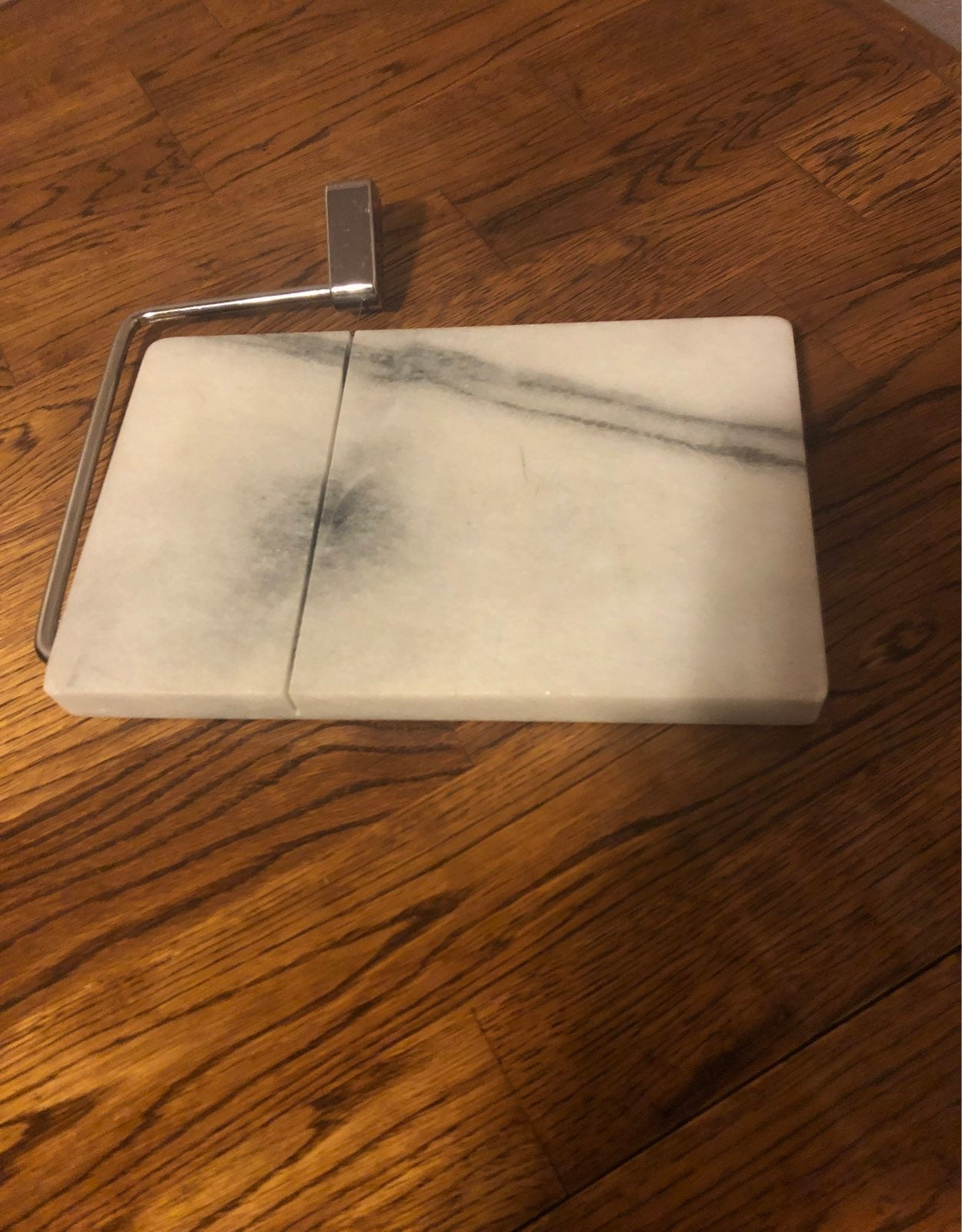 Vintage  Marble cheese slicer