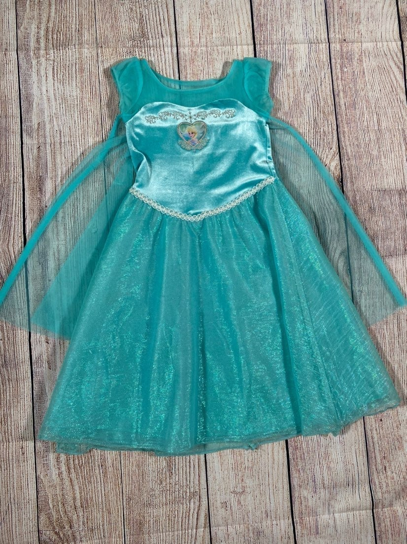 Girls Disney Elsa Dress Costume